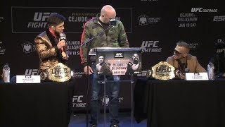 UFC Brooklyn: Pre-Fight Press Conference Highlights
