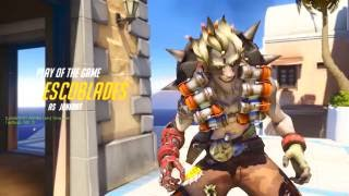 Overwatch - Play Of The Game: Junkrat (Parody)