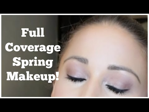 Full Coverage Spring (Daytime) Makeup- Acne Coverage