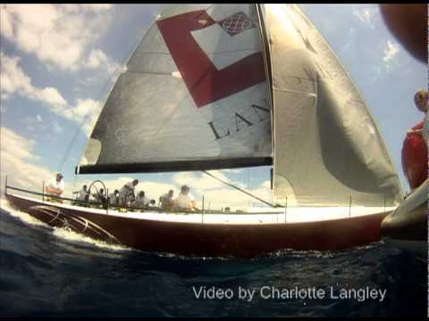 Near Miss Yacht Race
