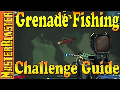Hunter's Grotto Grenade Fishing Challenge Guide - Borderlands 2