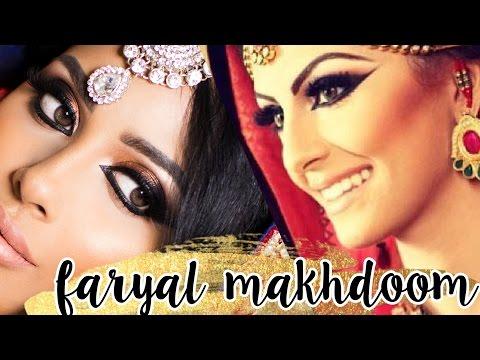 Faryal Makhdoom Wedding Makeup   Arabian Eyeliner   Pakistani Bridal   irenesarah