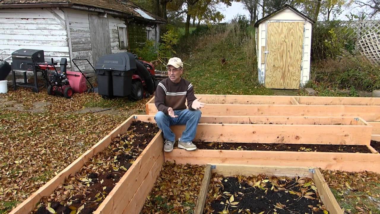 Raised bed questions and answers youtube for Garden design for disabled