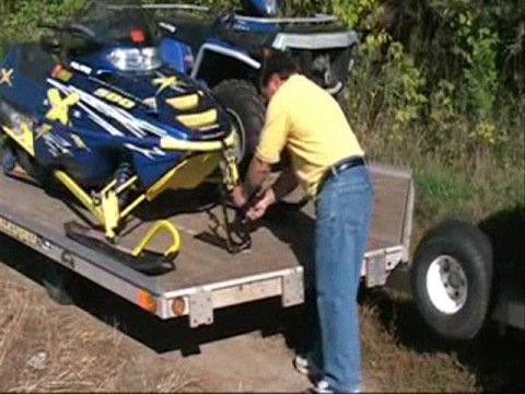 0 ATV Snowmobile Tie down Ratchet straps suck .com