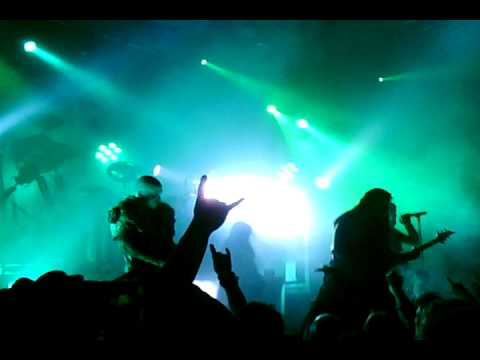 Dimmu Borgir @ Sentrum Scene 18.10.10 - Celebrating Galders birthday + A Jew Traced Through Coal.AVI