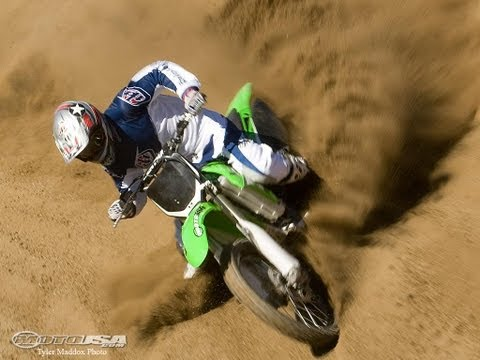 2008 Kawasaki KX250F - Motocross Bike Review Video