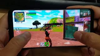 Test Game Fortnite Mobile on Samsung Galaxy S9