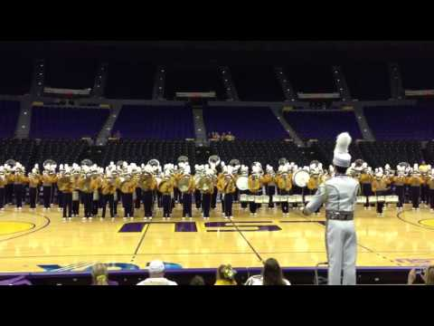 LSU's Golden Band from TigerLand doing it Gangnam Style