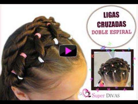Peinados paso a paso infantiles trenzas cintas y tocados - Ver peinados de fiesta paso a paso ...