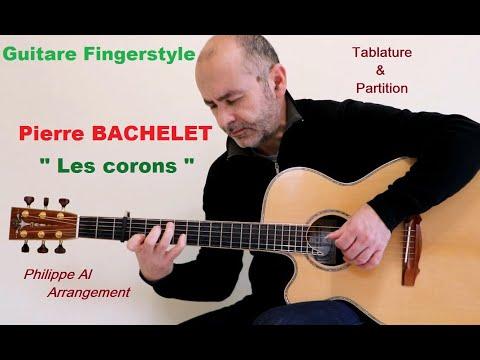 Pierre Bachelet - Les Corons - Guitare Fingerstyle