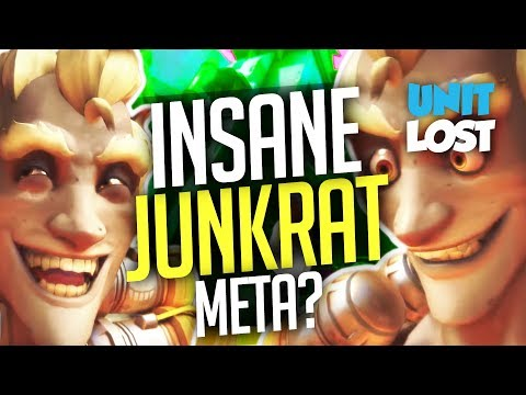 Overwatch - The INSANE Junkrat Meta? (Pro Players Show Junkrat's CRAZY Power!)