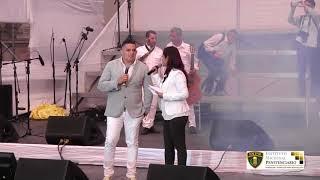 Internos cantan al papa Francisco en la Plaza Mayor de Lima