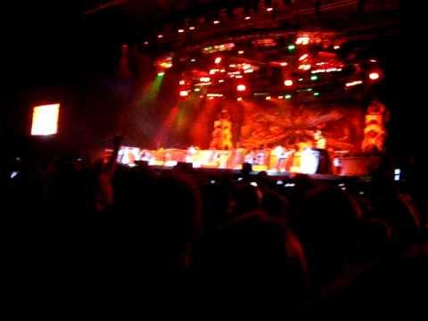 Iron Maiden The number of the beast warszawa bemowo 10 czerwca 2011