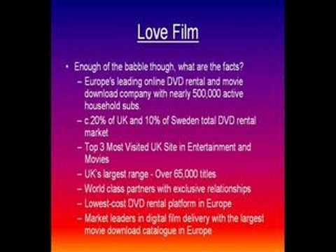 Love Film DVD Rental Movies At Home