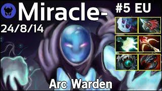 Miracle- [Liquid] plays Arc Warden!!! Dota 2 7.21