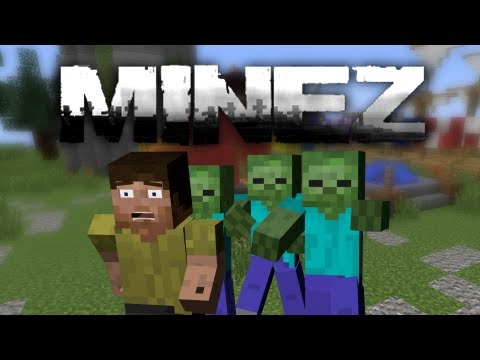 Minecraft: Caveman Beasts MineZ (Part 1 of 2)