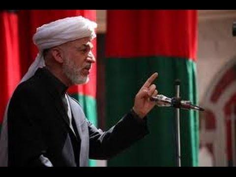 Karzai considers war in Afghanistan preplanned کرزی جنگ افغانستان را برنامهریزی شده می داند