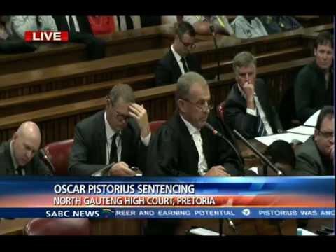 Oscar Pistorius Pre-Sentencing Arguments: Monday 13 Ocober 2014, Session 1