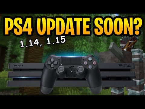 Minecraft 1.14 Good News For Console PS4 Players! Future Updates