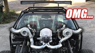 Turbocharging Leroy Ep.3 - THEY'RE ON (precision twin turbos)