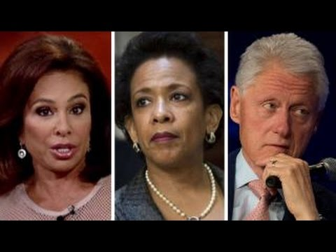 Jeanine Pirro reacts to Bill Clinton's meeting with AG Lynch