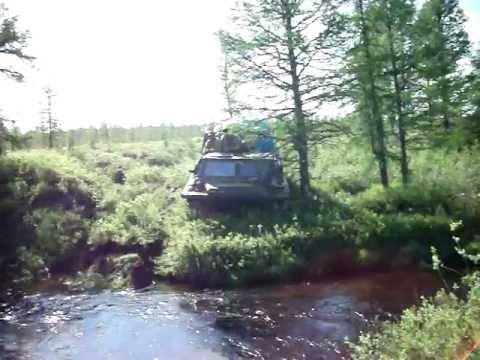 ГАЗ 71 переправа реки