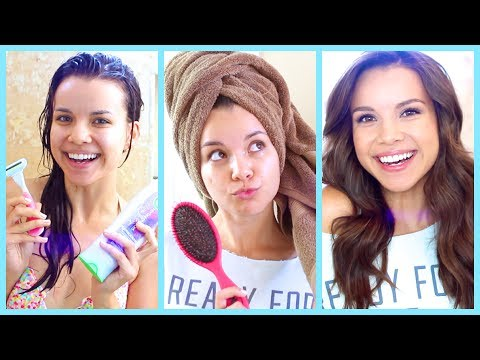 My Shower And Hair Routine! video