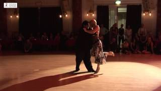 2016 Alejandra and Aoniken dance tango to Paciencia at Cheltenham International Tango festival