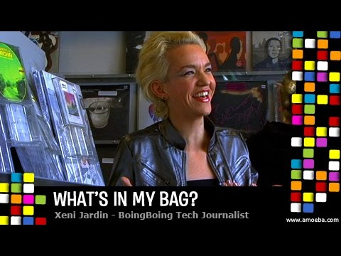 Xeni Jardin - What's In My Bag?