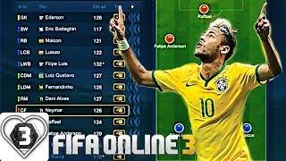 I Love FIFA | Xây Dựng & Trải Nghiệm Đội Hình +10 Đội Tuyển Brasil VÔ CÙNG NHANH & MÃN NHÃN