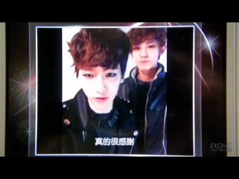 [中字]120506 EXO-K Baekhyun&Chanyeol STARCALL Music Videos