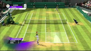 Grand Slam Tennis 2 (Nadal Vs Djokovic) Superstar (Hardest difficulty)