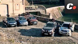 Nissan Navara, Ford Ranger, Toyota Hilux, Mitsubishi L200, Isuzu D-Max