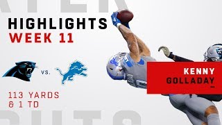 Kenny Golladay Highlights vs. Panthers