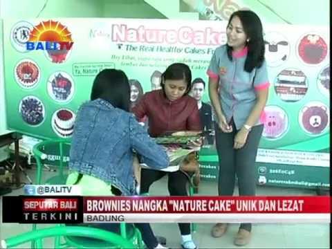 """BROWNIES NANGKA """"NATURE CAKE UNIK DAN LEZAT"""