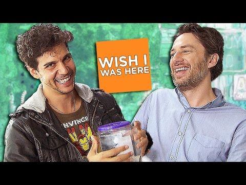 ZACH BRAFF Swears in German for Charity! WISH I WAS HERE Interview