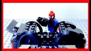 Lego 8522 - 5 Lego siêu nhân người nhện lắp ghép ô tô lego