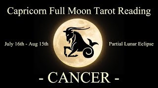 Cancer - About to have the upper hand! - Full Moon/Lunar Eclipse Reading