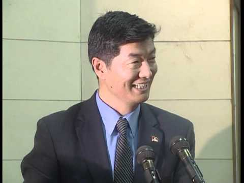 Dr. Lobsang Sangay, Tibetan ( P M ) Part - 01 Speech at Makhanlal Chaturvedi University,Bhopal (MP),