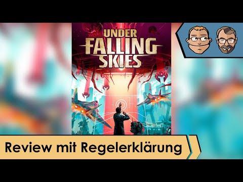Under Falling Skies – Brettspiel – Review und Regelerklärung