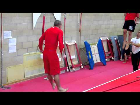 Georges St-Pierre (GSP) Training for UFC 129 - Circuit #2 Image 1