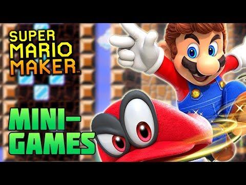 Super Mario Maker: Super Mario Odyssey Minigames(?) | MineZoneGermany