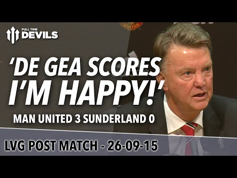 Manchester United 3-0 Sunderland | Louis Van Gaal Post Match Press Conference