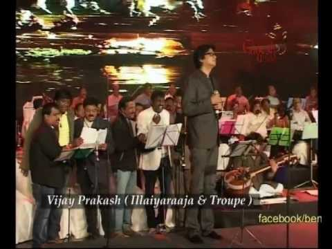 Vijay Prakash with ILLAIYARAAJA performing @ 50th Bengaluru Ganesh Utsava