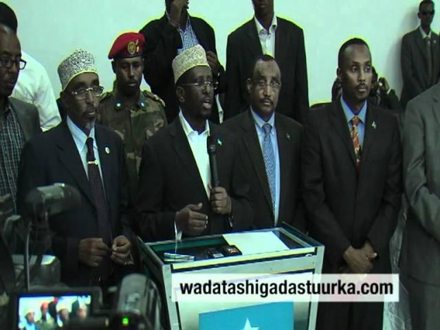 Khudbadii Madaxweyne Shiikh Shariif uu ka jeediyay Shirkii Wadatashiga Garoowe