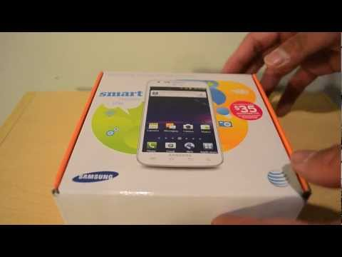 Samsung Galaxy S II Skyrocket in White Unboxing