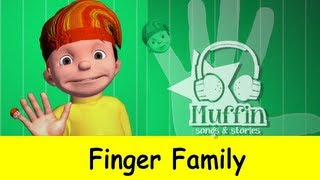 Muffin Songs - The Finger Family 3D (Daddy Finger) | Original Muffin Songs Version