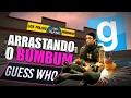 ARRASTANDO O BUMBUM | Garry's Mod Guess Who (Momentos Engraçados)