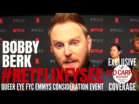 "Bobby Berk interviewed at the ""Queer Eye"" Netflix FYSee Event #NetflixFYSee"