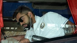 Virat Kohli & team arrive in Kolkata to play the 2nd ODI against Aussies